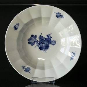 Blaue Blume, eckig, Suppenteller, Royal Copenhagen 25cm