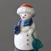 Schneemann Mutter mit Schaufel, Royal Copenhagen Winter Figur
