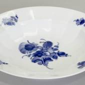 Blaue Blume, eckig, Suppenteller, Royal Copenhagen 22cm
