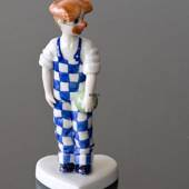 Verkleidete Kinder, Clown, Royal Copenhagen Figur