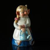 Troll, Mutter mit Kessel, Royal Copenhagen Figur