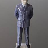 Militärpilot in Uniform, Bing & Gröndahl Figur
