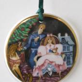 1995 Weihnachten in Dänemark Ornament, Royal Copenhagen